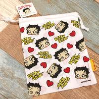 Betty Boop Drawstring Bag C