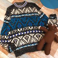 Design Knit Black&Blue