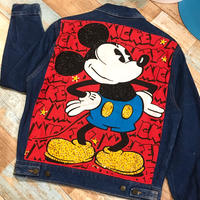 Mickey Mouse Denim Jacket Blue