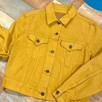 Levi's Denim Jacket Mustard Yellow