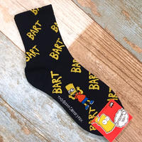 The Simpsons Socks Navy×Yellow