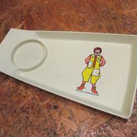 McDonald's Food Tray Ronald