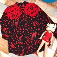 Red × Black Shirt
