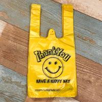Vinyl Bag Smile Yellow S