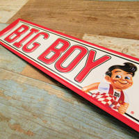 BIG BOY Metal Sign