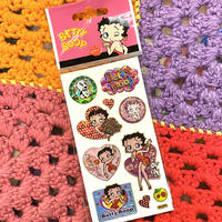 Betty Boop Holographic Sticker D