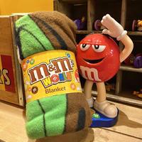 m&m's fleece blanket