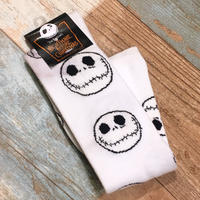 The Nightmare Before Christmas Long Socks White