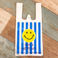 Vinyl Bag Smile Stripes S