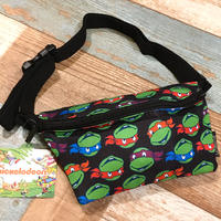 Nickelodeon Body Bag Turtles Black