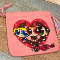 Power Puff Girls Drawstring Bag