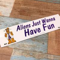 ALF Bumper Sticker D