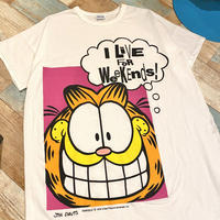 Garfield Big T-Shirt White