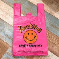 Vinyl Bag Smile Pink (L)