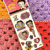 Betty Boop Holographic Sticker F