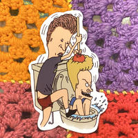Beavis&Butt-head Sticker B