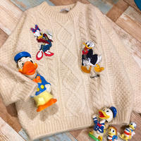 Donald & Daisy duck Knit