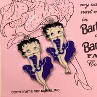 Betty Boop Pierce Purple