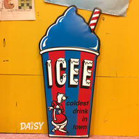 ICEE Metal Sign Blue