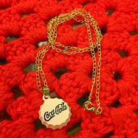Coca Cola Necklace Pink