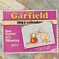 Garfield Calendar 1983