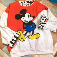 Mickey&Co. Reversible Sweat Orange