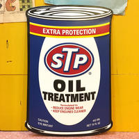 STP Oil Can Metal Sign