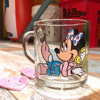 Anchor Hocking Mickey & Minnie Glass Mug