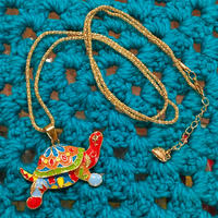 Colorful Necklace Turtle