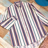 Stripes Shirt Pink&Blue