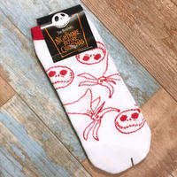 The Nightmare Before Christmas Socks Red
