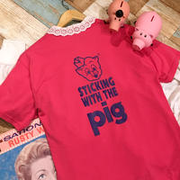 Piggly Wiggly T-shirt Pink