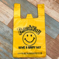 Vinyl Bag Smile Yellow L