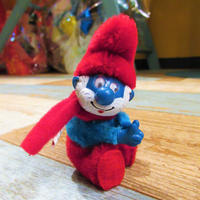 Papa Smurf Clip Doll Red