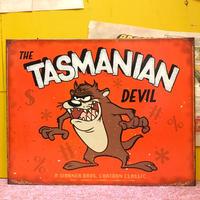 Metal Sign Tasmanian Dnvil