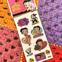 Betty Boop Holographic Sticker A