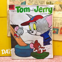 Comic Pouch Tom&Jerry White
