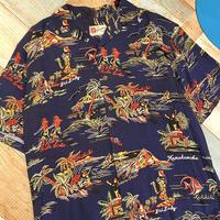 Aloha Shirt Navy