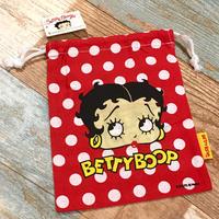 Betty Boop Drawstring Bag B