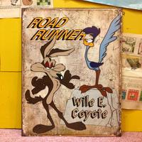 Metal Sign  Coyote&Road runner