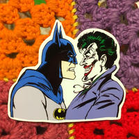 Joker&Bat man Sticker