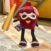 California Raisins Bendable Plush Beach A