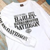 Harley Davidson Long Sleeve Shirt White