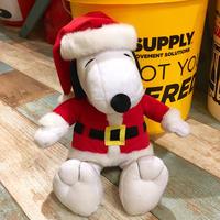 Snoopy plush Santa