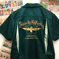 Green Bowling Shirt