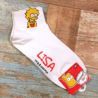 The Simpsons Socks Lisa