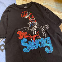 Dr.Seuss Cat in the hat T-shirt Black