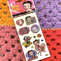Betty Boos Holographic Sticker E