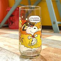 McDonald's Peanuts Glass A
