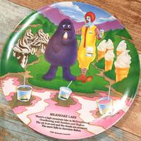"McDonald's Plastic Plate ""Milkshake Lake"""